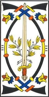3 de espadas marsella