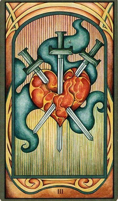 3 de espadas significado