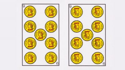Significado sota de Oros Tarot Baraja Española