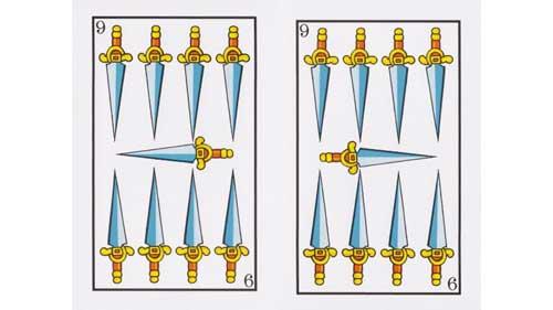 Significado nueve de espadas Tarot Baraja Española