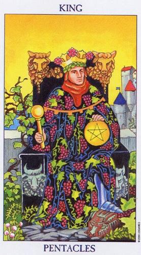 12 rey de oros tarot rider waite