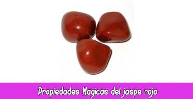 Propiedades Mágicas del jaspe rojo