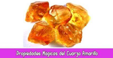 Propiedades Mágicas del Cuarzo Amarillo o Citrino