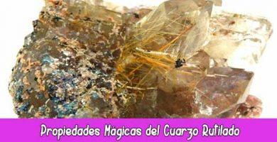 Propiedades Mágicas del Cuarzo Rutilado