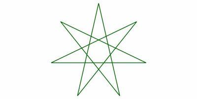 significado espiritual del Heptagrama