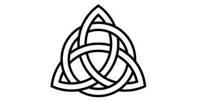 significado espiritual de la triqueta