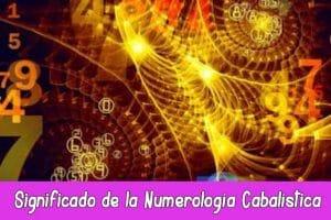 Numerología Cabalística
