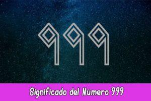 Significado del número 999