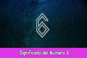 Significado del número 6