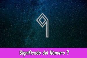 Significado del número 9