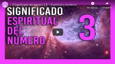 significado espiritual numero 3