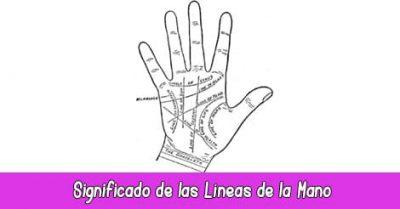 Significado lineas de la mano