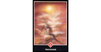Tarot Osho Zen 8 de Fuego Viajando