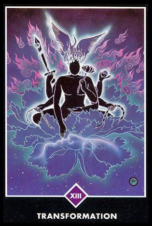 Tarot Osho Zen Transformación significado