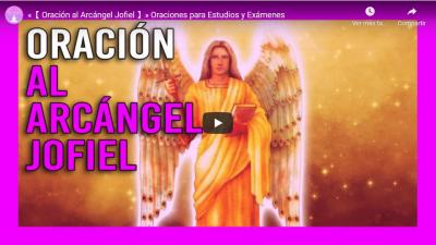 oracion al arcangel jofiel