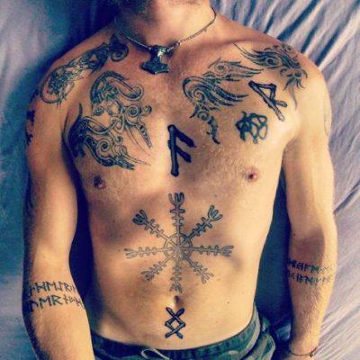 Tatuaje de la Runa Ansuz