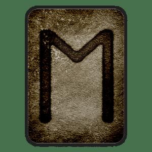 Runa Ehwaz del Oráculo Vikingo