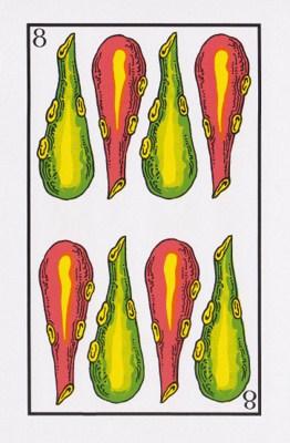 8 de bastos tarot
