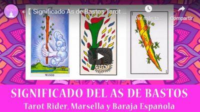 as de Bastos Tarot youtube soy espiritual
