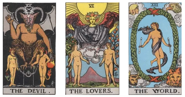 el diablo los enamorados y el mundo