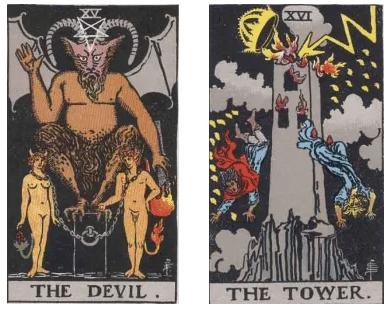 el diablo y la torre