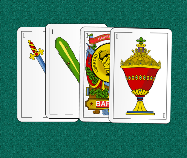 los 4 palos de la baraja española