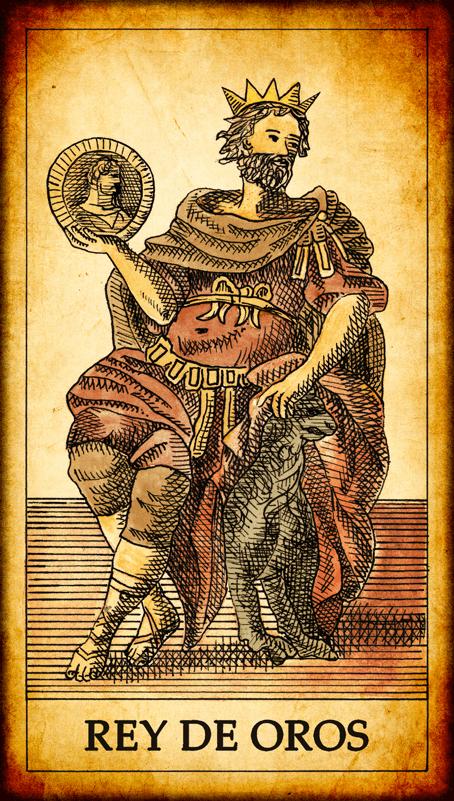 rey de oros significado