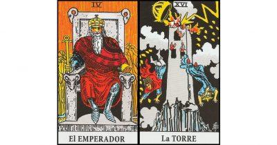 combinaciones el emperador y la torre
