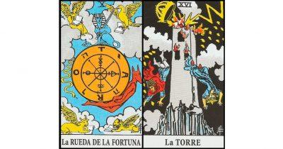 combinaciones la rueda de la fortuna y la torre