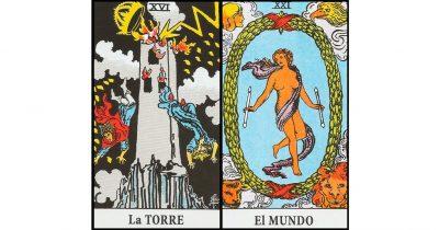 combinaciones la torre y el mundo