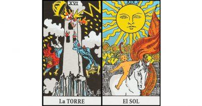 combinaciones la torre y el sol