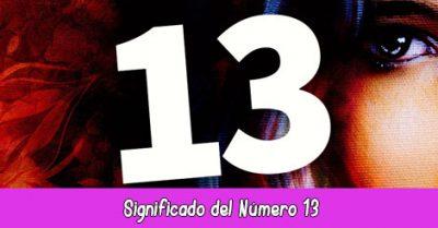 significado del número 13