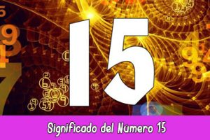 significado del número 15