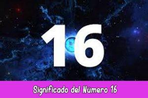significado del número 16