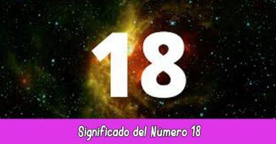 significado del número 18