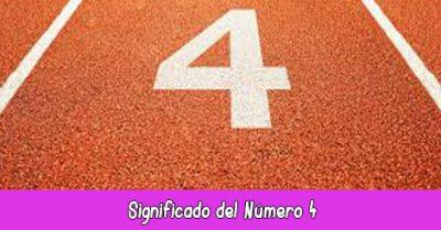 significado del número 4