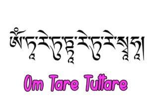 mantra Om Tare Tuttare significado