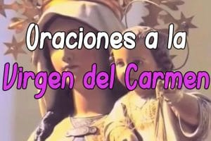 oraciones poderosas a la virgen del carmen