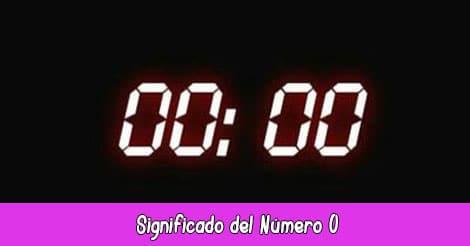 Significado del Número 0000