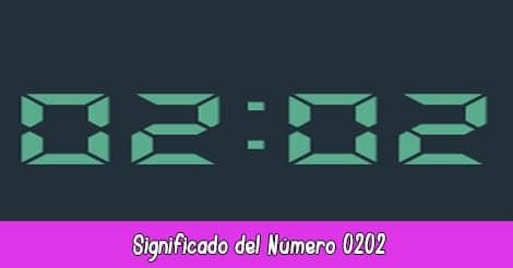 Significado del Número 0202